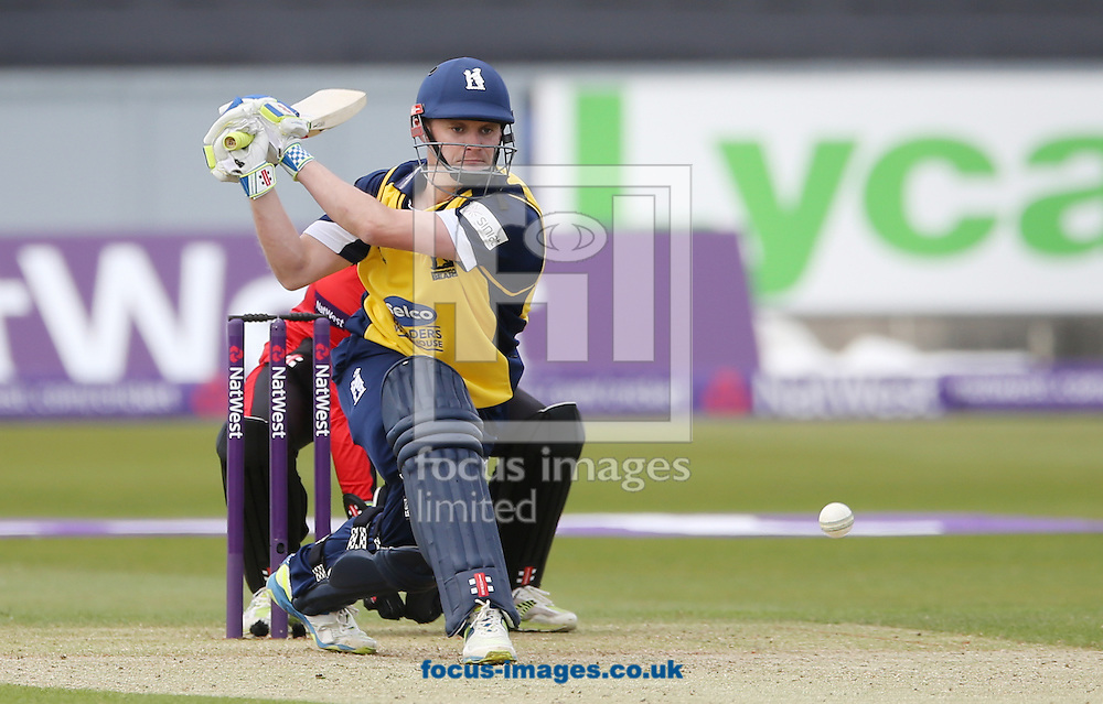 William Porterfield of Birmingham Bears batting during the Natwest T20 Blast match at Emirates Durham ICG, Chester-le-Street<br /> Picture by Simon Moore/Focus Images Ltd 07807 671782<br /> 06/06/2015