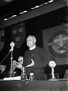 07/02/1955<br /> 02/07/1955<br /> 07 February 1955<br /> <br /> Rev Canon Hayes PP, Bansha, Founder of Humanitarian Care at Meeting in Mansion House