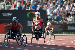 WOLF Edith, SUI, 400m, T54, 2013 IPC Athletics World Championships, Lyon, France