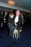 CASPIAN; LORD DALMENY, The Royal Caledonian Ball 2010. Grosvenor House. Park Lane. London. 30 April 2010 *** Local Caption *** -DO NOT ARCHIVE-© Copyright Photograph by Dafydd Jones. 248 Clapham Rd. London SW9 0PZ. Tel 0207 820 0771. www.dafjones.com.<br /> CASPIAN; LORD DALMENY, The Royal Caledonian Ball 2010. Grosvenor House. Park Lane. London. 30 April 2010