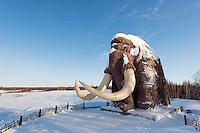 Mammut Statue von Salekhard