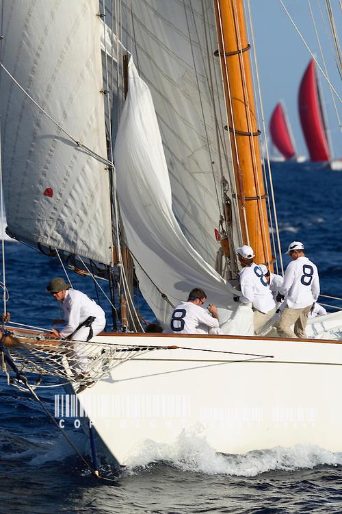 Moonbeam IV.Voiles de Saint Tropez 2006 VOILE-EQUIPAGES-SAILING CREW-PART.1