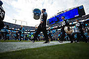 January 3, 2016: Carolina Panthers vs Tampa Bay Buccaneers. Opening ceremony at Carolina Panthers' Bank of America Stadium