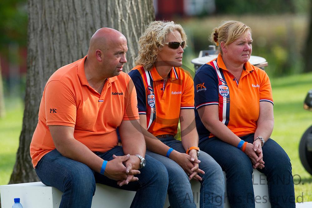 Gerrit de Bruin, Christiana Appel, Mirjam van Lanen<br /> FEI European Championships 2011<br /> © DigiShots