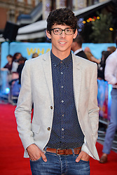 Image ©Licensed to i-Images Picture Agency. 12/08/2014. London, United Kingdom. <br /> Matt Richardson attends the What If - UK film premiere. Leicester Square. Picture by Chris Joseph / i-Images