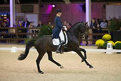 Minderhoud Hans Peter, (NED), Glock's Casper<br /> Int I Freestyle Test<br /> CDI 4* Azelhof Lier 2015<br /> © Hippo Foto - Leanjo de Koster