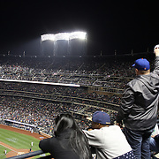 A general view of Citi Field during the New York Mets Vs Miami Marlins MLB regular season baseball game at Citi Field, Queens, New York. USA. 18th April 2015. Photo Tim Clayton