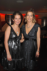 Left to right, sisters COUNTESS ALEXANDRA TOLSTOY-MILOSLAVSKY and COUNTESS ANASTASIA TOLSTOY-MILOSLAVSKY at a party to celebrate the Russian New Year in association with Stolichnaya vodka held at Harvey Nichols, London on 14th January 2008.<br /> <br /> NON EXCLUSIVE - WORLD RIGHTS