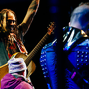"Micahel Franti and Spearhead perform to a packed crowd in Teton Village, Wyoming. With a speech from special needs child Isabella telling everyone to be ""HAPPY""."