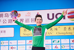Giorgia Bronzini (ITA) retains the green jersey at Tour of Chongming Island 2018 - Stage 2, a 121.3km road race from Changxing Fenghuang Park to Chongming Island on April 27, 2018. Photo by Sean Robinson/Velofocus.com