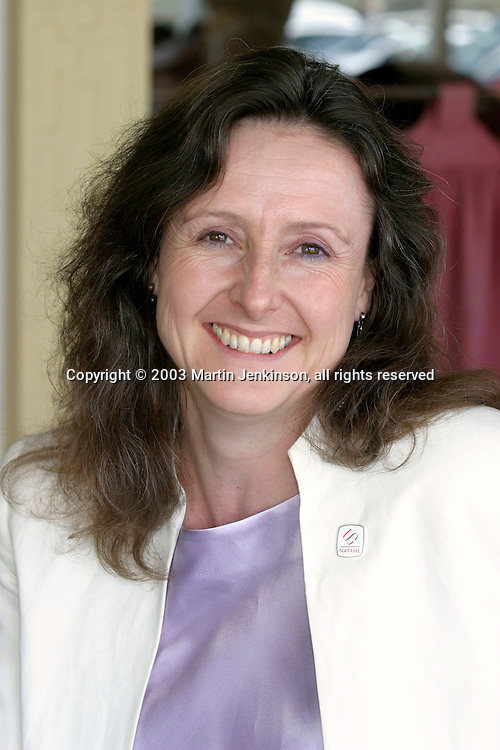 Maureen O'Mara, Vice President NATFHE..© Martin Jenkinson, tel/fax 0114 258 6808 mobile 07831 189363 email martin@pressphotos.co.uk. Copyright Designs & Patents Act 1988, moral rights asserted credit required. No part of this photo to be stored, reproduced, manipulated or transmitted to third parties by any means without prior written permission