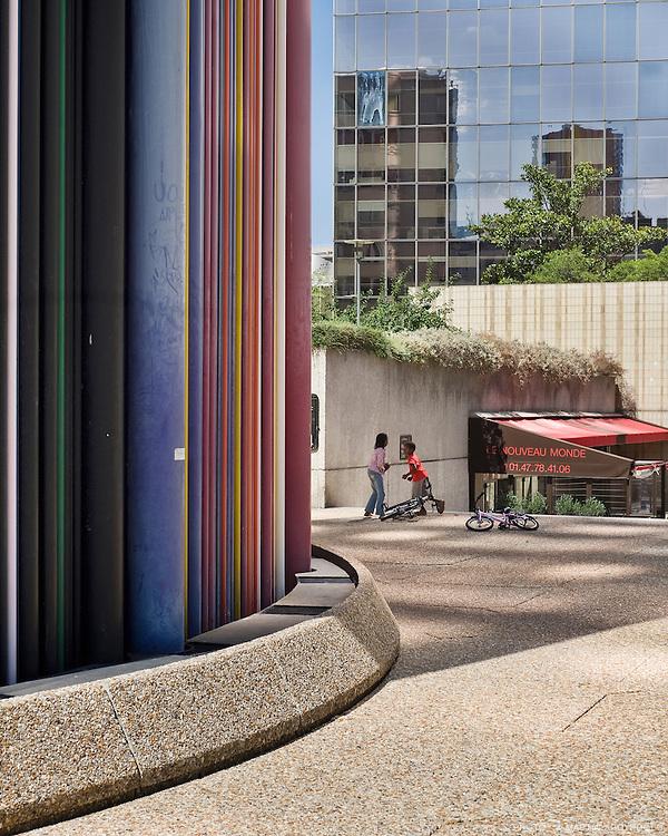 Dalle de la Défense, Paris, 2009