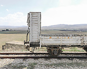 Treno, stazione Genzano. Potenza, 11 agosto 2013. Christian Mantuano / OneShot