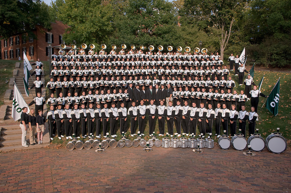 18424Marching 110 Group Photos Fall 2007 and Section photos