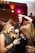 Mannheim. 01.01.16  In der Silvesternacht. Neujahrsfeier mit Konzerten und Partys.<br /> - Bootshaus. Monalisa, Julia und Valeska<br /> Bild: Markus Prosswitz 01JAN16 / masterpress (Bild ist honorarpflichtig - No Model Release!)