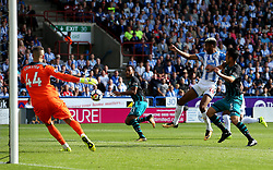 Steve Mounie of Huddersfield Town misses a chance from close range - Mandatory by-line: Matt McNulty/JMP - 26/08/2017 - FOOTBALL - The John Smith's Stadium - Huddersfield, England - Huddersfield Town v Southampton - Premier League