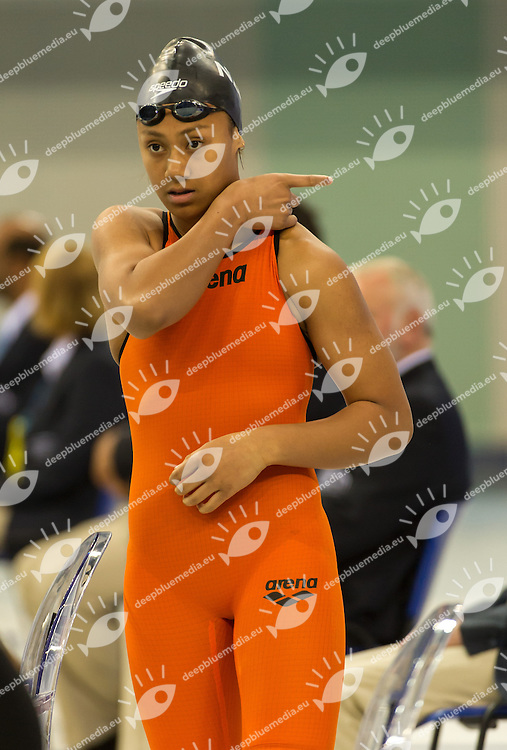 Fa Amausili  GabrielleNew Zealand <br /> 50 Backstroke Women<br /> 4th FINA World Junior Swimming Championships<br /> Day05 30Aug. finals<br /> Dubai U.A.E. 26-31 August 2013<br /> Photo G. Scala/Insidefoto/Deepbluemedia.eu