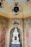 Ofen im Rokoko Festsaal, Thüringer Museum im Stadtschloss, Eisenach, Thüringen, Deutschland |  city palace, Eisenach, Thuringia, Germany