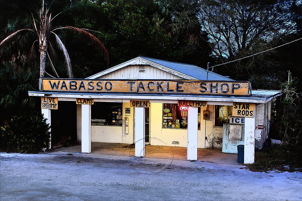 &quot;Wabasso Tackle Shop&quot;<br />