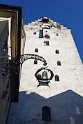 Altstadt von Ravensburg, Obertor, Baden-Württemberg, Deutschland