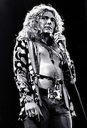 Robert Plant - Led Zeppelin at Earls Court Arena in London in May 1975