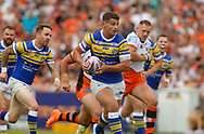 Stevie Ward (Captain) of Leeds Rhinos on the attack against Castleford Tigers during the Betfred Super League match at the Mend-A-Hose Jungle, Castleford<br /> Picture by Stephen Gaunt/Focus Images Ltd +447904 833202<br /> 08/07/2018