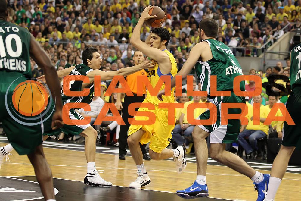 DESCRIZIONE : Barcellona Barcelona Eurolega Eurolegue 2010-11 Final Four Finale Final Maccabi Electra Tel Aviv Panathinaikos<br /> GIOCATORE : Lior Eliyahu<br /> SQUADRA : Maccabi Electra Tel Aviv<br /> EVENTO : Eurolega 2010-2011<br /> GARA : Maccabi Electra Tel Aviv Panathinaikos<br /> DATA : 08/05/2011<br /> CATEGORIA : penetrazione<br /> SPORT : Pallacanestro<br /> AUTORE : Agenzia Ciamillo-Castoria/ElioCastoria<br /> Galleria : Eurolega 2010-2011<br /> Fotonotizia : Barcellona Barcelona Eurolega Eurolegue 2010-11 Final Four Finale Final Maccabi Electra Tel Aviv Panathinaikos<br /> Predefinita :