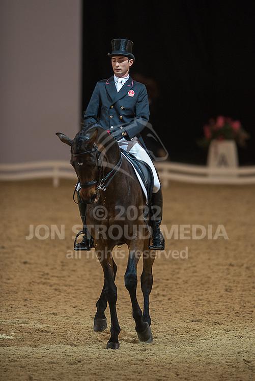 Alex Hua Tian (CHN) & Royaldik - Dressage - Express Eventing - Horse World Live - ExCel London - 17 November 2012