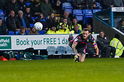 Leeds United defender Liam Cooper (6) in action during the EFL Sky Bet Championship match between Reading and Leeds United at the Madejski Stadium, Reading, England on 26 November 2019.