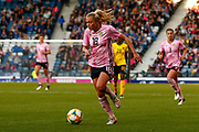 Claire EMSLIE (Manchester City WFC (ENG)) of Scotland  during the International Friendly match between Scotland Women and Jamaica Women at Hampden Park, Glasgow, United Kingdom on 28 May 2019.