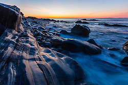 Dawn on the New Hampshire Seacoast. Wallis Sands State Park, Rye, New Hampshire.