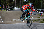 #29 (HUISMAN Ruby) NED during round 3 of the 2017 UCI BMX  Supercross World Cup in Zolder, Belgium,