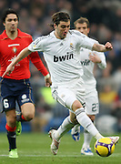Real Madrid's Gonzalo Higuain during La Liga match.January 18 2009.