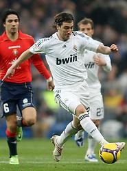 Real Madrid's Gonzalo Higuain during La Liga match.January 18 2009.