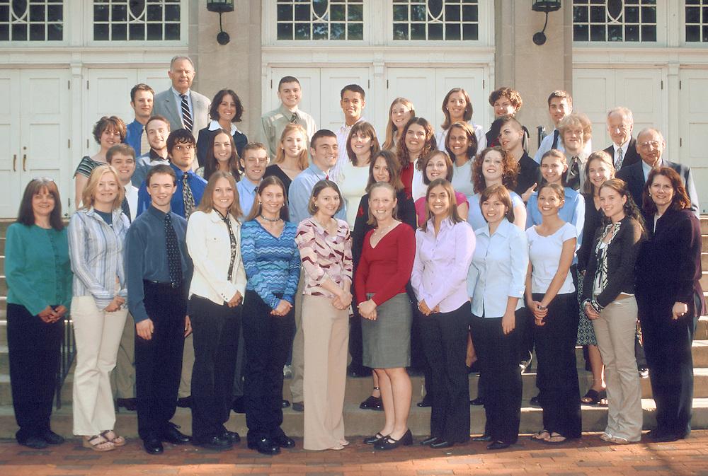 16500Cutler Scholars Group Portrait