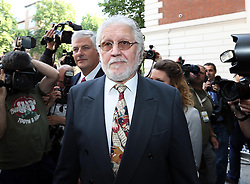 Dave Lee Travis arriving at Westminster Magistrates Court in  London, Friday, 23rd August 2013. Picture by Stephen Lock / i-Images
