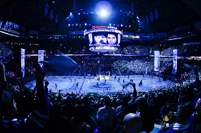 VANCOUVER, CANADA - APRIL 11: of the Vancouver Canucks of the Los Angeles Kings in Game One of the Western Conference Quarterfinals during the 2012 NHL Stanley Cup Playoffs at Rogers Arena on April, 11, 2012 in Vancouver, British Columbia, Canada. Los Angeles won 4-2. (Photo by Derek Leung/Getty Images) *** LOCAL CAPTION *** playername