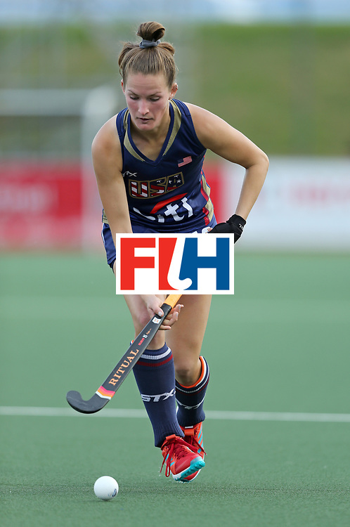 New Zealand, Auckland - 17/11/17  <br /> Sentinel Homes Women&rsquo;s Hockey World League Final<br /> Harbour Hockey Stadium<br /> Copyrigth: Worldsportpics, Rodrigo Jaramillo<br /> Match ID: 10291 - USA vs KOR<br /> Photo: (19) MOYER Lauren