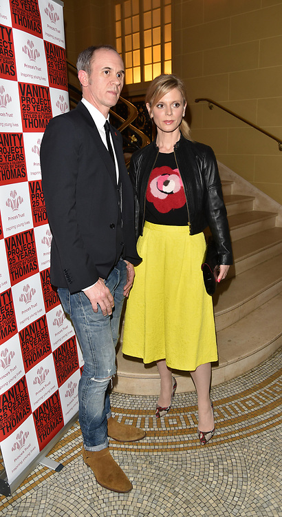 London,UK, 26th Feb 2015 : David  Thomas and Emilia Fox attends the Vanity Project for the Prince's Trust at Hotel Cafe Royal in London. Photo by See Li