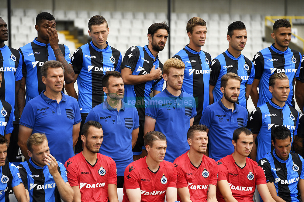 July 11, 2017 - Bruges, Belgique - Rudy Cossey and Head coach Ivan Leko and Club Brugge pictured during photo session for the new Jupiler Pro League Season 2017- 2018 on July 11, 2017 in Brugge , Belgium, 11/07/2017 (Credit Image: © Panoramic via ZUMA Press)