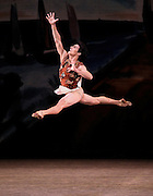 Prodigal Son<br /> Choreography George Balanchine &copy; The George Balanchine Trust<br /> New York City Ballet  <br /> Credit photo: &copy;Paul Kolnik.<br /> paul@paulkolnik.com.<br /> nyc 212-362-7778