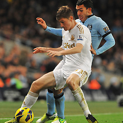 Manchester City v Swansea City | Premiership |27 October 2012