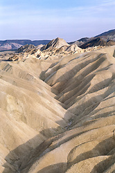 CA: Death Valley National Park Zabriskie Point   .Photo by Lee Foster, lee@fostertravel.com, www.fostertravel.com, (510) 549-2202.Image: cadeat204