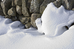 July 21, 2019 - Snow Covered Boulders (Credit Image: © John Short/Design Pics via ZUMA Wire)