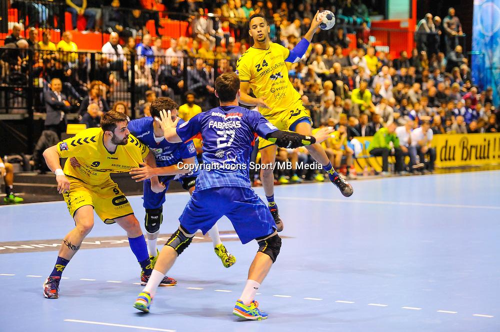 Micke Brasseleur - 11.03.2015 - Tremblay / Montpellier - 18eme Journee de Division 1 <br /> Photo : Anthony Dibon / Icon Sport