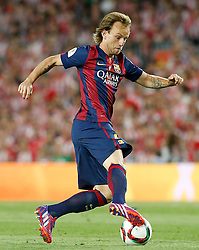 30.05.2015, Camp Nou, Barcelona, ESP, Copa del Rey, Athletic Club Bilbao vs FC Barcelona, Finale, im Bild FC Barcelona's Ivan Rakitic // during the final match of spanish king's cup between Athletic Club Bilbao and Barcelona FC at Camp Nou in Barcelona, Spain on 2015/05/30. EXPA Pictures &copy; 2015, PhotoCredit: EXPA/ Alterphotos/ Acero<br /> <br /> *****ATTENTION - OUT of ESP, SUI*****