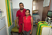 Refugee Supun Thilina Kellapatha (L) with his wife Nadeeka Dilrukshi Nonis. Edward Snowden in hiding in Hong Kong