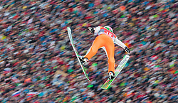 01.01.2016, Olympiaschanze, Garmisch Partenkirchen, GER, FIS Weltcup Ski Sprung, Vierschanzentournee, Bewerb, im Bild Domen Prevc (SLO) // Domen Prevc of Slovenia during his Competition Jump of Four Hills Tournament of FIS Ski Jumping World Cup at the Olympiaschanze, Garmisch Partenkirchen, Germany on 2016/01/01. EXPA Pictures © 2016, PhotoCredit: EXPA/ JFK