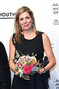 Premiere van Gurre-Lieder in de Nationale Opera & Ballet / Premiere of Gurre-Lieder in the National Opera & Ballet.<br /> <br /> Op de foto / On the photo:  Koningin Maxima / Queen Maxima