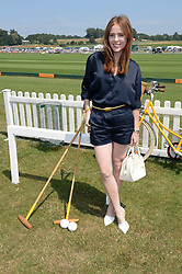 ANGELA SCANLON at the Veuve Clicquot Gold Cup, Cowdray Park, Midhurst, West Sussex on 21st July 2013.